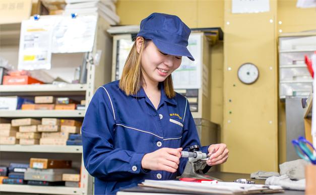 兵庫精密工業所 品質検査及び管理グループの勤務風景